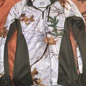 Real tree thermal shirt